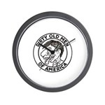Dirty Old Men of America Wall Clock