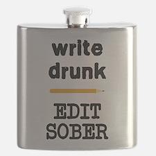 Write Drunk Edit Sober Flask
