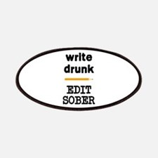Write Drunk Edit Sober Patches