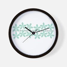 Cute Styles Wall Clock