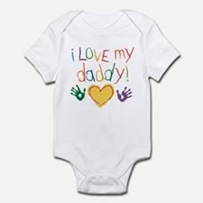 i love my daddy Infant Bodysuit