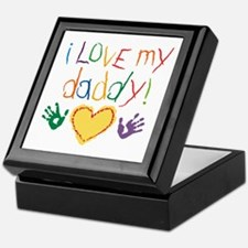 i love my daddy Keepsake Box