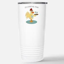 It's Cocktail Time Travel Mug