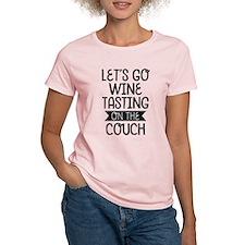 Let's Go Wine Tasting Women's Light T-Shirt