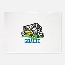 Goalie 5'x7'Area Rug