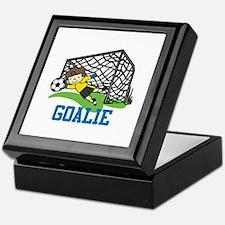 Goalie Keepsake Box