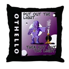 "Othello Pillow: ""Put Out the Light"""