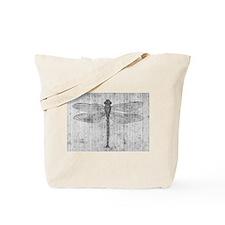 Vintage dragonfly Tote Bag