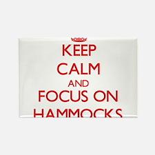 Keep Calm and focus on Hammocks Magnets