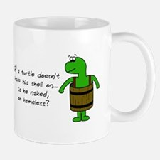 Turtle Without Shell Mug