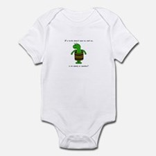 Turtle Without Shell Infant Bodysuit