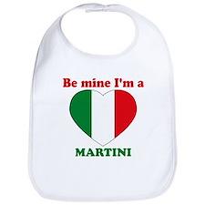 Martini, Valentine's Day Bib