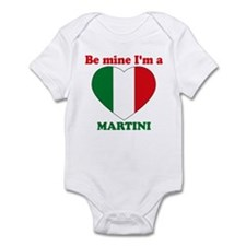 Martini, Valentine's Day Infant Bodysuit