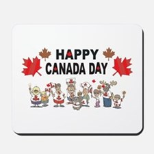 Happy Canada Day Mousepad