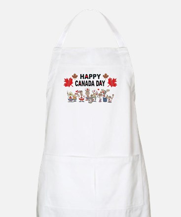 Happy Canada Day BBQ Apron