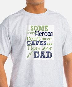 Dad Super Heroes T-Shirt
