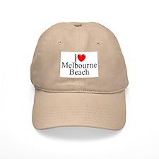 """I Love Melbourne Beach"" Baseball Cap"