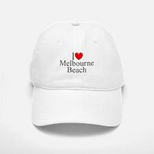 """I Love Melbourne Beach"" Baseball Baseball Cap"