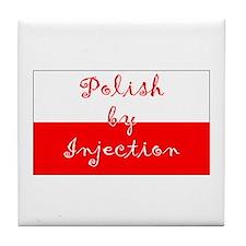 Polish by Inj. Tile Coaster