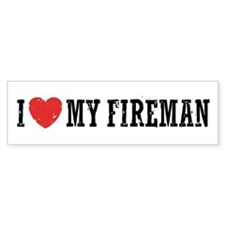 lovefireman231 Bumper Bumper Sticker