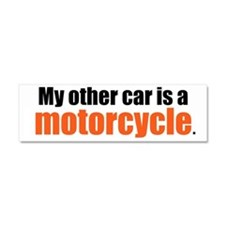 Cute Motorcycle Car Magnet 10 x 3