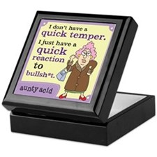 Aunty Acid: Quick Temper Keepsake Box