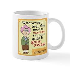Aunty Acid: Need to Exercise Mug