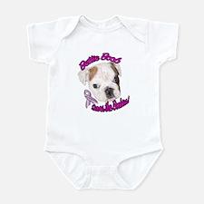 Bettie BoobTSaves the Boobies Infant Bodysuit