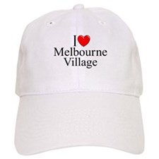 """I Love Melbourne Village"" Baseball Cap"