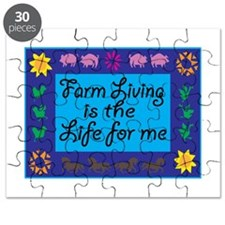 Farm Living Is The Life For Me Puzzle