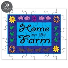 Home On The Farm Puzzle