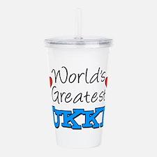Worlds Greatest Ukki Acrylic Double-wall Tumbler