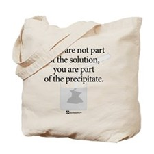 Solution Precipitate (beaker) - Tote Bag