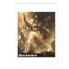 Blackbeard the Pirate Postcards (Package of 8)