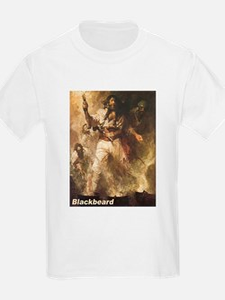Blackbeard the Pirate (Front) T-Shirt