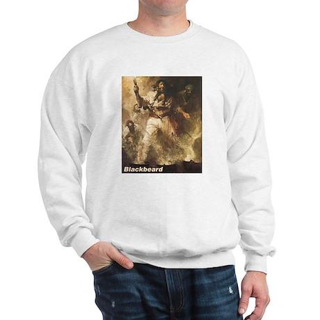Blackbeard the Pirate (Front) Sweatshirt