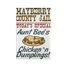 Mayberry County Jail Aunt Bee Magnets