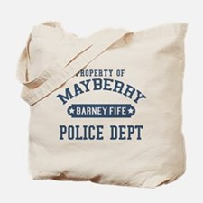 Mayberry Police Barney Fife Tote Bag