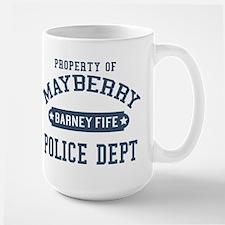 Mayberry Police Barney Fife Mugs