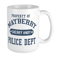 Mayberry Police Sheriff Andy Mugs