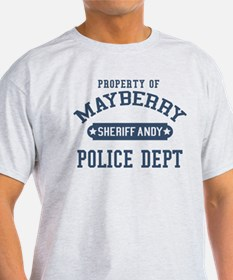 Mayberry Police Sheriff Andy T-Shirt