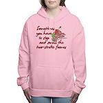 Two-Stroke Roses Women's Hooded Sweatshirt