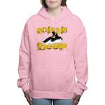 deepclock.png Women's Hooded Sweatshirt