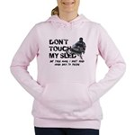 Snowmobile Threat Women's Hooded Sweatshirt