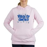 Wishin' For Snow Women's Hooded Sweatshirt