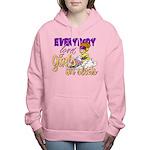 Girls on Sleds Women's Hooded Sweatshirt