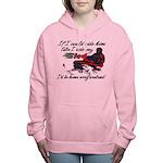Ride Him Like My Sled Women's Hooded Sweatshirt