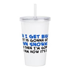 My Own Snowmobile Acrylic Double-wall Tumbler