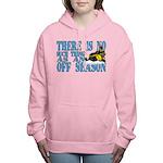 No Off Season Snowmobiling Women's Hooded Sweatshi