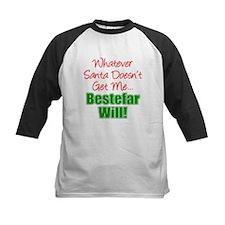 Santa Doesn't Bestefar Will Baseball Jersey